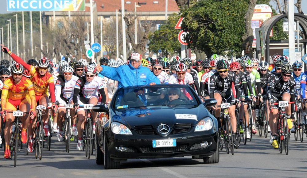 Riccione capitale del ciclismo amatoriale