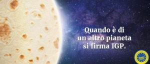 La piadina romagnola IGP ispirata dal poeta Giovanni Pascoli in giro per l'Europa