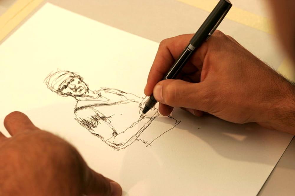 """A lezione dal fumettista riminese Alan D'Amico: """"Ecco come vincere sul foglio bianco"""""""