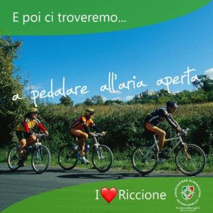 Riccione: Torneremo a pedalare all'aria aperta