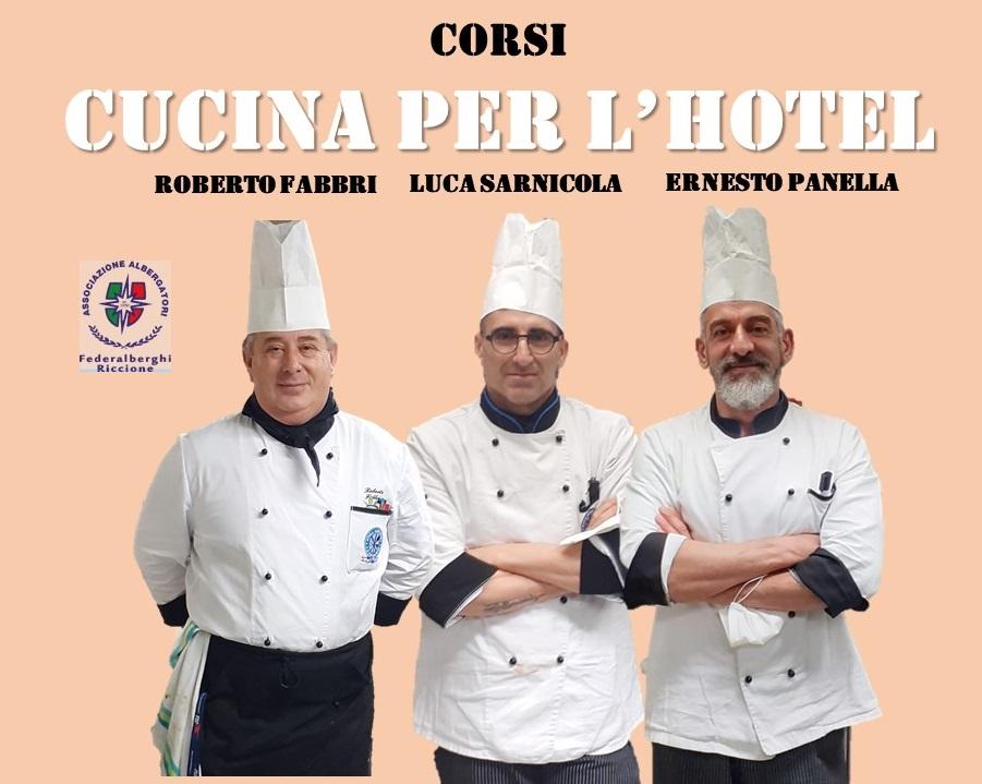 Federalberghi Riccione in collaborazione con IAL Emilia-Romagna e Federalberghi Misano organizza una serie di corsi di cucina finanziati da EBURT.